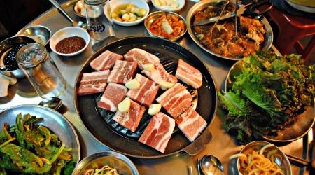Korean Food Meat BBQ