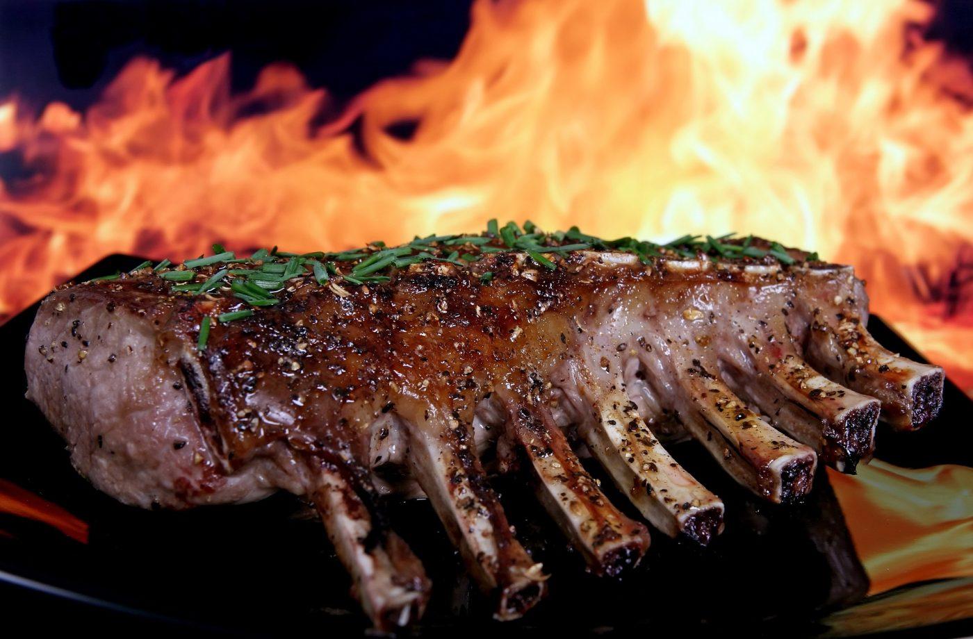 Pork Ribs Fire